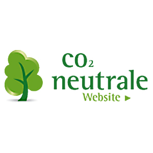Label CO2 neutrale Website